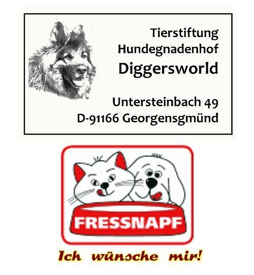 """Fressnaps unterstützt Diggersworld mit der Aktion """"Ich wünsche mir"""""""